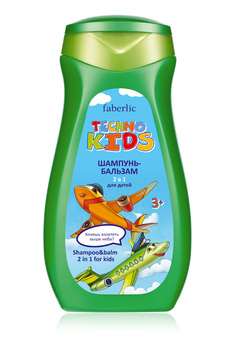 Techno Kids 2-in-1 Shampoo & Conditioner