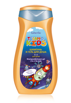 Techno Kids 2-in-1 Shampoo & Shower Gel