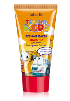Techno Kids Toothpaste, apple flavor