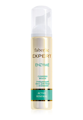 Expert Active Renewal Cleansing Mousse with Enzymes