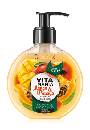 Mango & Papaya Vitamin Liquid Soap